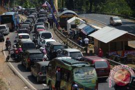 Tanjakan Gentong masih menjadi titik kemacetan mudik balik Lebaran