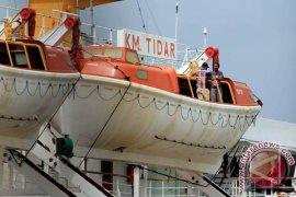 Polres belum terima laporan penumpang KM  Tidar jatuh ke laut