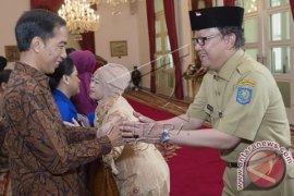 Pejabat Negara Silaturahim Dengan Presiden di Istana
