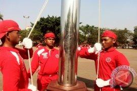 Paskibra Kabupaten Serang Intensifkan Latihan