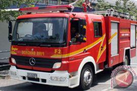 22 mobil damkar dikerahkan atasi kebakaran di Gedung Pajak