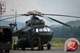 Tim evakuasi korban helikopter MI-17 berhasil tiba di lokasi