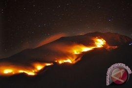 185 personel padamkan api Gunung Merbabu