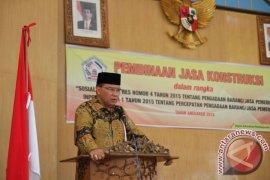 Bupati: Konsultan Jasa Kontruksi Tak Asal Teken