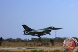 F-16 nomor registrasi TS-1603 berjasa pada insiden Pulau Bawean