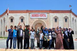 Peggy Melati dan sekolah khusus anak-anak difabel di Gaza