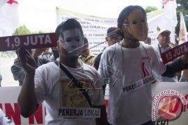 Demo Buruh Aceh