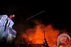 Pabrik produk kecantikan di Sukabumi terbakar