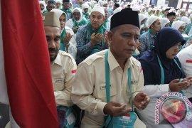 Jamaah haji kloter 10 tiba di Tanah Air