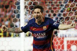 Hikayat gol tercepat Lionel Messi
