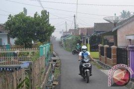 Kecamatan Kota Mukomuko kembali diselimuti kabut asap