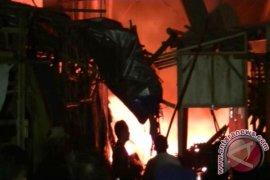 Pasar Induk Cibatu Sukabumi Kebakaran