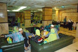 Tiga penerbangan perdana jemaah Indonesia dari Jeddah tertunda
