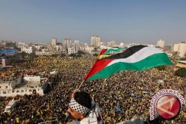 180 Orang Palestina Cedera Bentrok dengan Tentara Israel