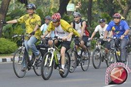 Presiden Jokowi Sapa Peserta CFD Bogor