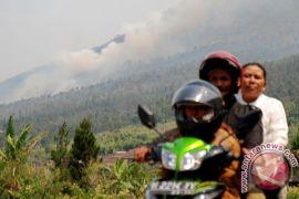 Antisipasi kebakaran di Gunung Merbabu, petugas lakukan patroli