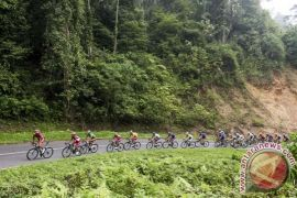 Pebalap Malaysia menangi etape III Tour de Siak