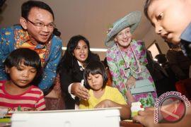 Ratu Denmark berkunjung ke Museum Nasional