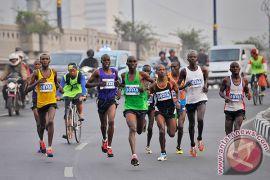 Pelari-pelari Kenya kuasai Jakarta Marathon 2015