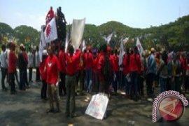 Buruh di Malang Tolak RPP Pengupahan
