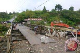 Jembatan di Jagong Aceh Tengah Kembali Normal