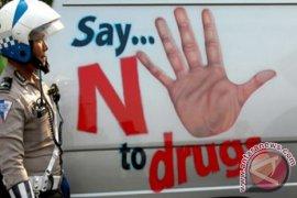 """Polisi Tulungagung Bekuk Pengedar Narkoba saat """"Sakaw"""""""