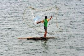 Karolin-Gidot siapkan kartu jala untuk nelayan
