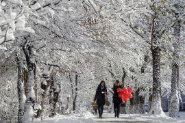 Ibu Kota Chile diterjang badai salju langka