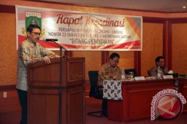 Banten Rakor Implementasi UU 23 2014 Bidang Pendidikan