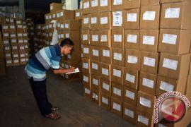 KPU Sidoarjo mulai distribusikan surat suara pemilu
