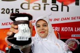 Satpol PP-WH Aceh kumpulkan 53 kantong darah