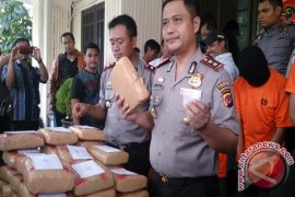 Polisi Tangkap Kurir 39 Kg Ganja