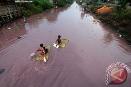 Kebersihan air sungai Kota Malang berkategori merah