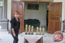 Perum LKBN Antara Bali Gelar Lomba Mewarnai