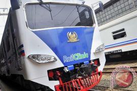 Jalur ganda Stasiun Parungpanjang-Maja resmi dioperasikan