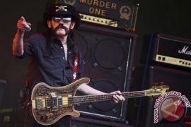 Lemmy Kilmister, pentolan band metal Motorhead meninggal dunia