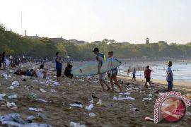 Sampah di Bali jadi sorotan dunia