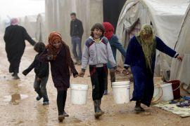 Pengungsi Aleppo ditempatkan di Idlib