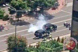 Polisi: Ledakan Thamrin Akibat Granat, Bukan Bom
