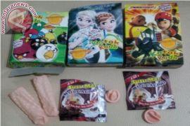Jajanan anak kemasan mirip kondom dilaporkan beredar di Bekasi