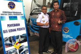 Kementerian Perhubungan Bantu Tabanan Tiga Bus