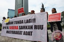 APHA: pemerintah cukup jadi pendamping masyarakat adat