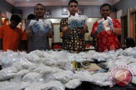 Polisi: Tulungagung Jalur Distribusi Narkoba Lintas-Jatim