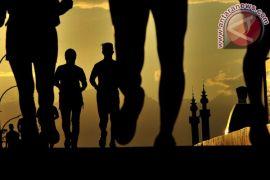 Lari Hijab Run di gelar di Lombok