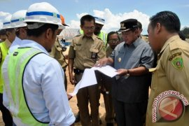 Work Halted at Penajam Lawe Lawe Dam Project on Financial Problem