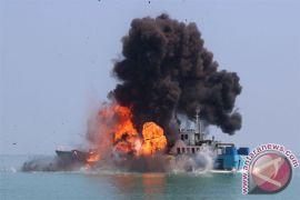 Menteri Susi tenggelamkan delapan kapal asing