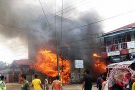 Kebakaran Hebat Menghanguskan 1 Unit Rumah
