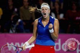 Kvitova, Pliskova bawa Ceko unggul 2-0 dari Jerman