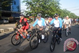 Lantamal Pontianak Gelar Fun Bike HUT Pomal