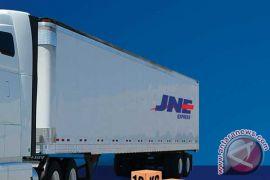 JNE kembangkan pengiriman skala besar dengan truk